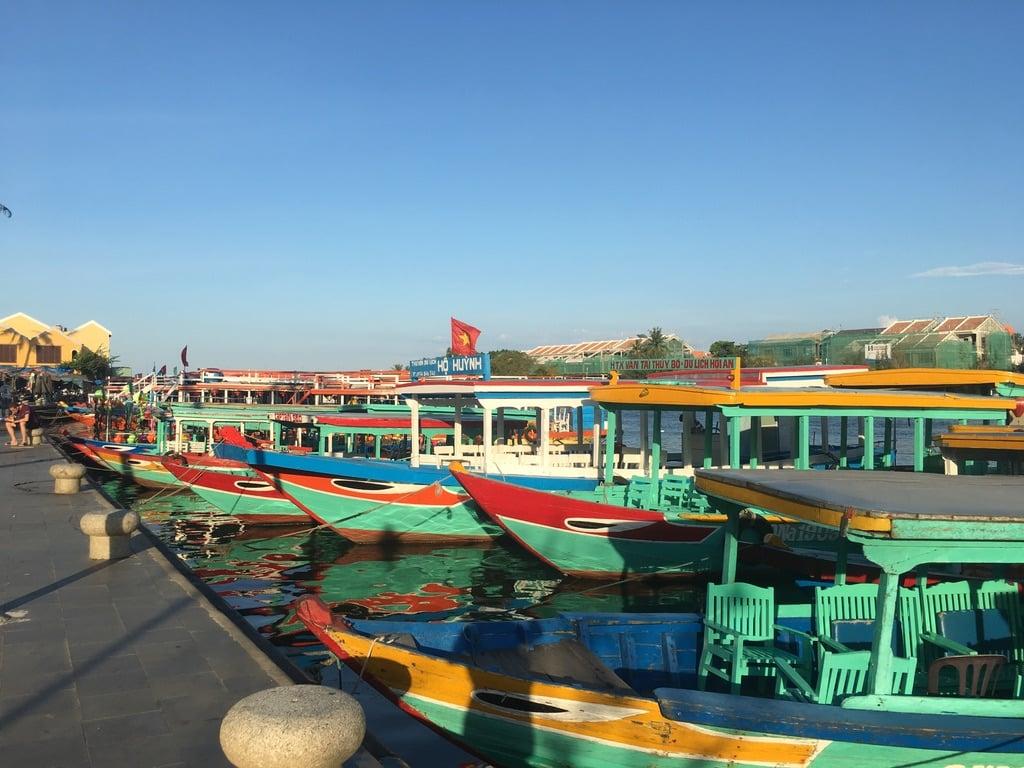 Hoian Thu bon river