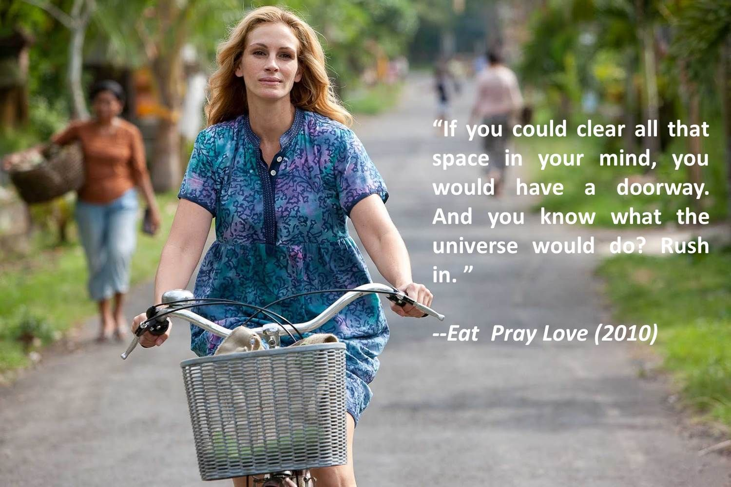 Eat pray love travel inspiration