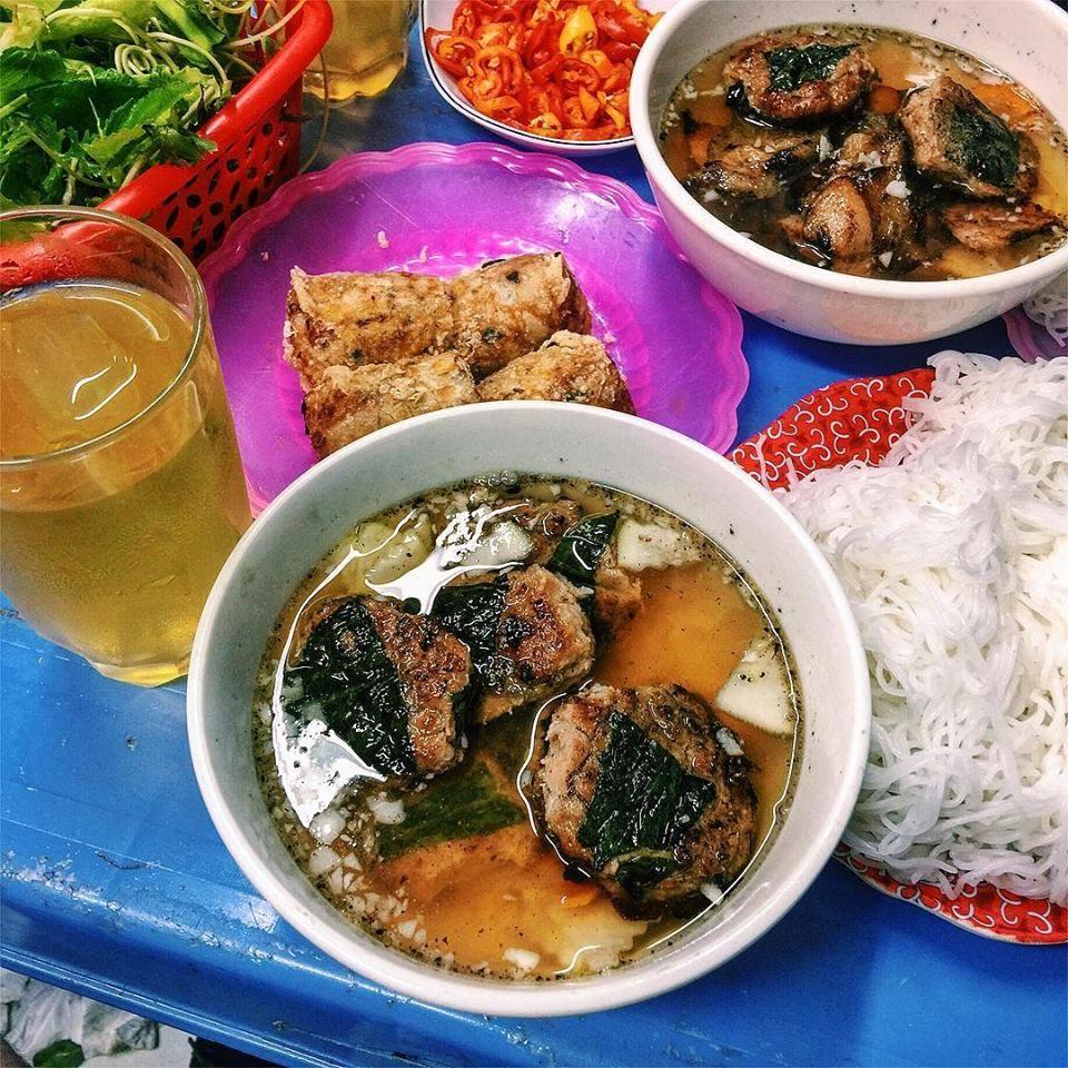 Food of Vietnam - Bun cha