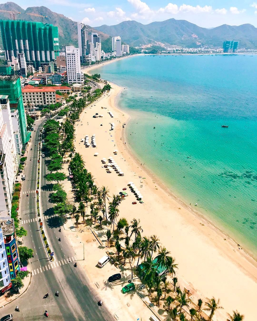 Nha Trang, The best place in Vietnam for the best chilling beach