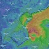 STORM NO.5 LANDING IN THE CENTRAL  PROVINCES OF VIET NAM