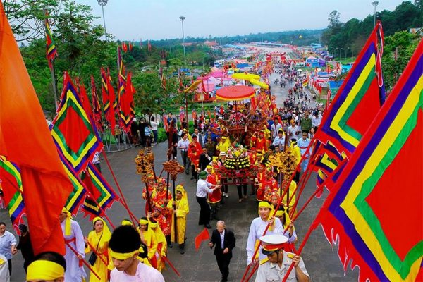 Upcoming-event Hung Vuong temple festival